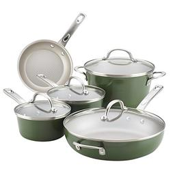Ayesha Curry 10291 Home Collection 9 Cookware Set 9 Piece Ba