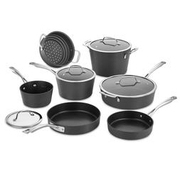 Cuisinart 62I-11 Conical Hard Anodized Cookware Set, Medium,