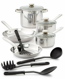 12 pc stainless steel cookware set oven