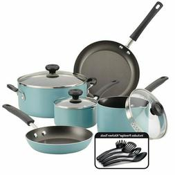Farberware 12-Piece Easy Clean Nonstick Pots and Pans/Cookwa