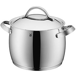WMF 17 2824 6040 9.5 quart Concerto Stock Pot, Silver