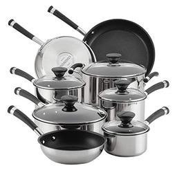 Circulon 70514 13-Piece Stainless Steel Cookware Set