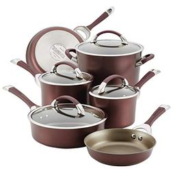 Circulon 87529 10-Piece Hard Anodized Aluminum Cookware Set,