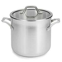 Calphalon 1833953 AccuCore Stainless Steel Stock Pot with Co