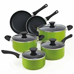 Cook N Home NC-00358 Nonstick Ceramic Coating 10-Piece Cookw