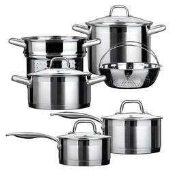 Duxtop Professional Stainless Steel Induction Cookware Set I