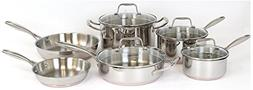 Oneida 10pc Stainless Steel Induction Ready Copper Base Cook