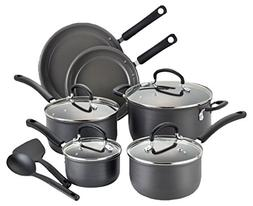 T-fal 2100089678 E789SC Cookware Set, 12-Piece, Black