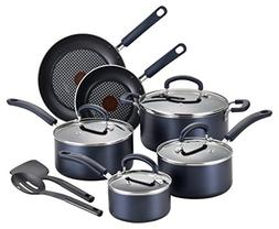 T-fal B129SC Color Luxe Hard Titanium Nonstick Thermo-Spot D