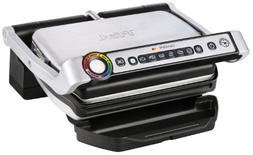 T-fal - Optigrill Grill - Stainless-steel/black