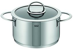 WMF 91.0324.6066 Vignola High Casserole with Lid, 6.6-Quart,
