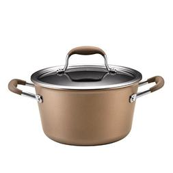 Anolon 4.5 Quart Tapered Stockpot - 4.5 quart Stockpot, Lid