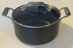 All-Clad Hard Anodized Nonstick 4-Qt Soup Pot With Glass Lid