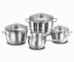 Korkmaz Aroma 7 Piece High-End Stainless Steel Induction-Rea