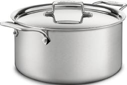 All-Clad BD55508 D5 Brushed 18/10 Stainless Steel  5-Ply Bon