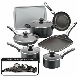 Farberware® High Performance 17-pc. Black Nonstick Cookw