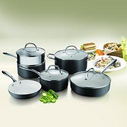 COOKSMARK Ceramic Nonstick Pots and Pans Set Scratch Resista