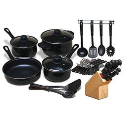 Moda Fina Chef's Du Jour 32-Piece Kitchen Combo Set