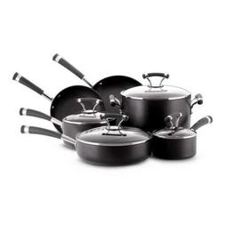 Circulon - Contempo 10-piece Cookware Set - Black