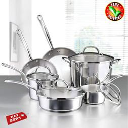 Cookware Set Best Kitchen Pots Stainless Steel Induction And