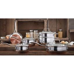 The Pioneer Woman Copper Charm 10-Piece Stainless Steel Copp