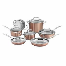 Cuisinart CSS-11BU Chef's Classic Stainless Cookware Set, Me