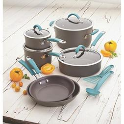 Rachael Ray Cucina Hard-anodized Nonstick 12-piece Cookware