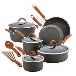 Rachael Ray® Cucina 12-pc. Orange Hard-Anodized Nonstick