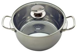 "Berndes Cucinare Induction Stainless Steel Stock Pot, 11.5""/"