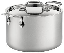 All-Clad® D5 4-qt. Brushed Stainless Soup Pot