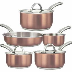 dealz frenzy tri ply copper non stick