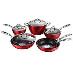 COOKSMARK Diamond-Infused Nonstick Induction Safe Cookware S