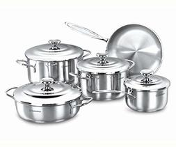 Korkmaz Droppa 9 Piece Cookware Set