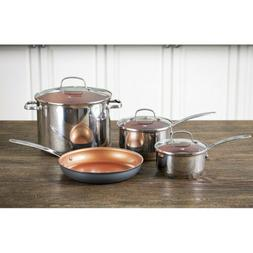 NuWave Duralon Ceramic Non-Stick Cookware - Chef Series 7 Pi