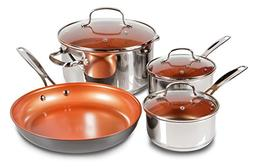 7-Piece Duralon Healthy Ceramic Non-Stick Cookware Set