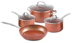 Durlon Cookware 7 Piece Forged Cookware Set