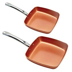 Copper Chef KC16078-02000 Fry Pan 8 and 9.5 Inch