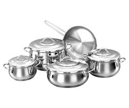 Korkmaz Gala 9 Piece High-End Stainless Steel Induction-Read