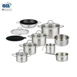 ELO Germany 14 PC 18/10 Stainless Steel Kitchen Induction Co