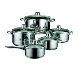 Germany Stainless Steel 10 Piece Kitchen Induction Cookware