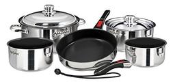 Magma Products Gourmet Nesting Stainless Steel Induction Coo
