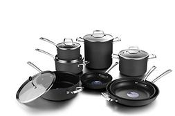 COOKSMARK Hard Anodized Nonstick Induction Cookware Set,13-P