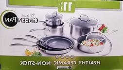 The Original GreenPan 11pc Healthy Ceramic Non-Stick Cookwar