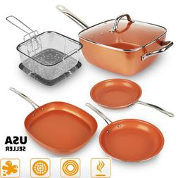 healthy non stick copper induction bottom frying