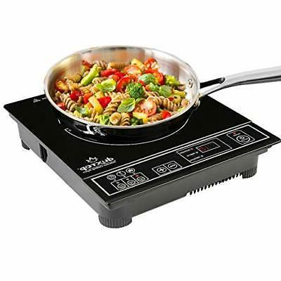 1800w portable induction cooktop countertop burner stove