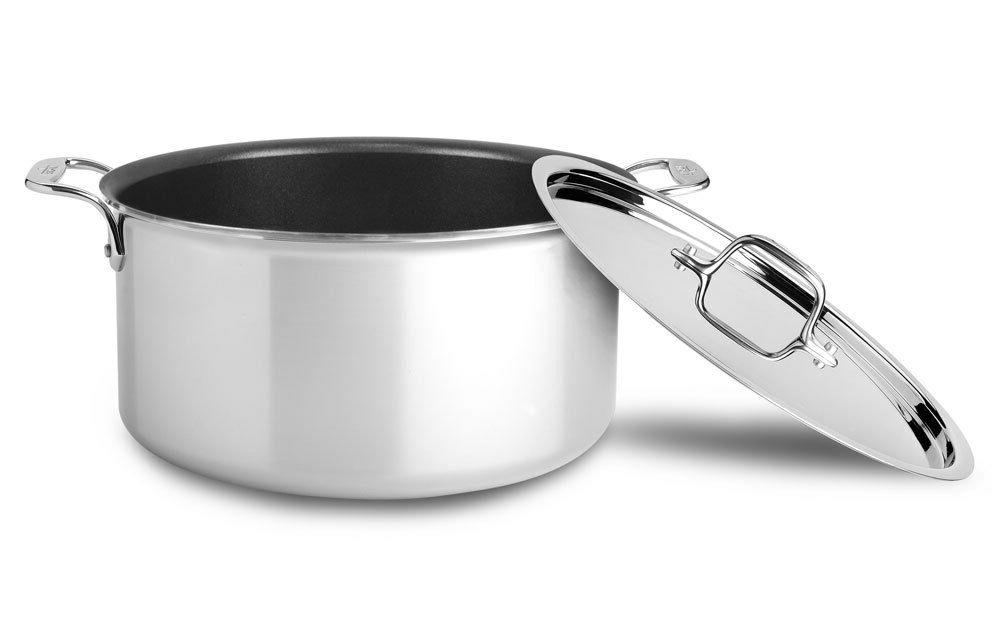 All-Clad 400105 NS R2-R Stainless Steel Tri-Ply Bonded Dishw