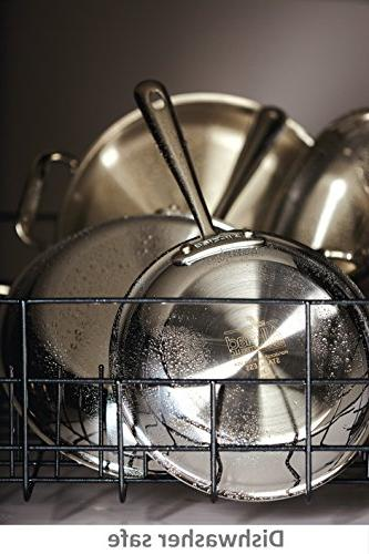 All-Clad D3 Cookware and Pans Set, Dishwasher Silver