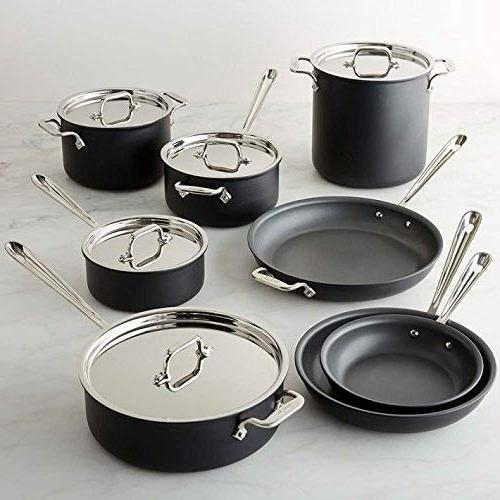 All-Clad NS1 Nonstick Induction 13-Piece Cookware Set