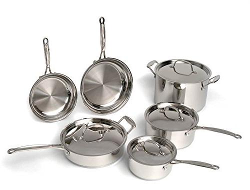 BergHOFF Earthchef Professional Copper Clad 10-Piece Cookwar
