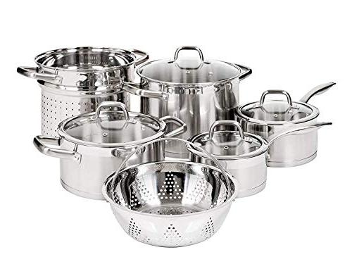 Duxtop Stainless Induction Cookware Technology 10-pc Set